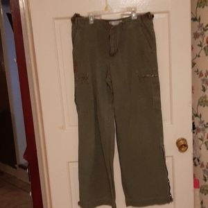 Tommy Hilfiger Army green cargo pants.
